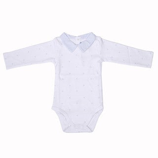 Briobebe Boys' White Cotton Bee Print Bodysuit (More options available)