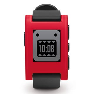 Pebble Smartwatch - Red (Certified Refurbished)