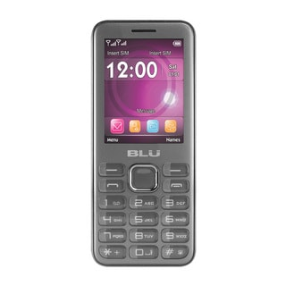 BLU Diva 3 Unlocked GSM Phone - Gray