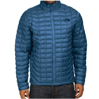 The North Face Thermoball Blue Down Puffer Jackets