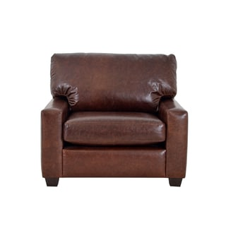 Kenmore Studio Genuine Top Grain Leather Armchair