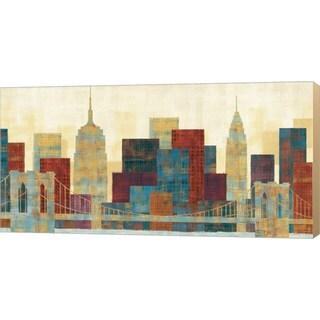 Michael Mullan 'Majestic City' Canvas Art