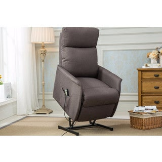 Classic Power Lift Recliner Living Room Chair - Grey