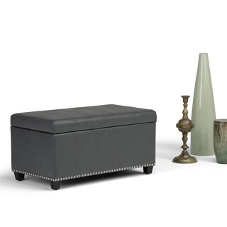 WYNDENHALL Megan Storage Ottoman Bench