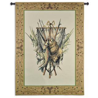 Fine Art Tapestries 'Fishing Gear' Wall Tapestry