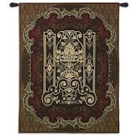 Fine Art Tapestries 'Filigree Medallion' Multicolored Cotton Wall Tapestry