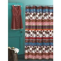 Barefoot Bungalow Kandula Desert Shower Curtain