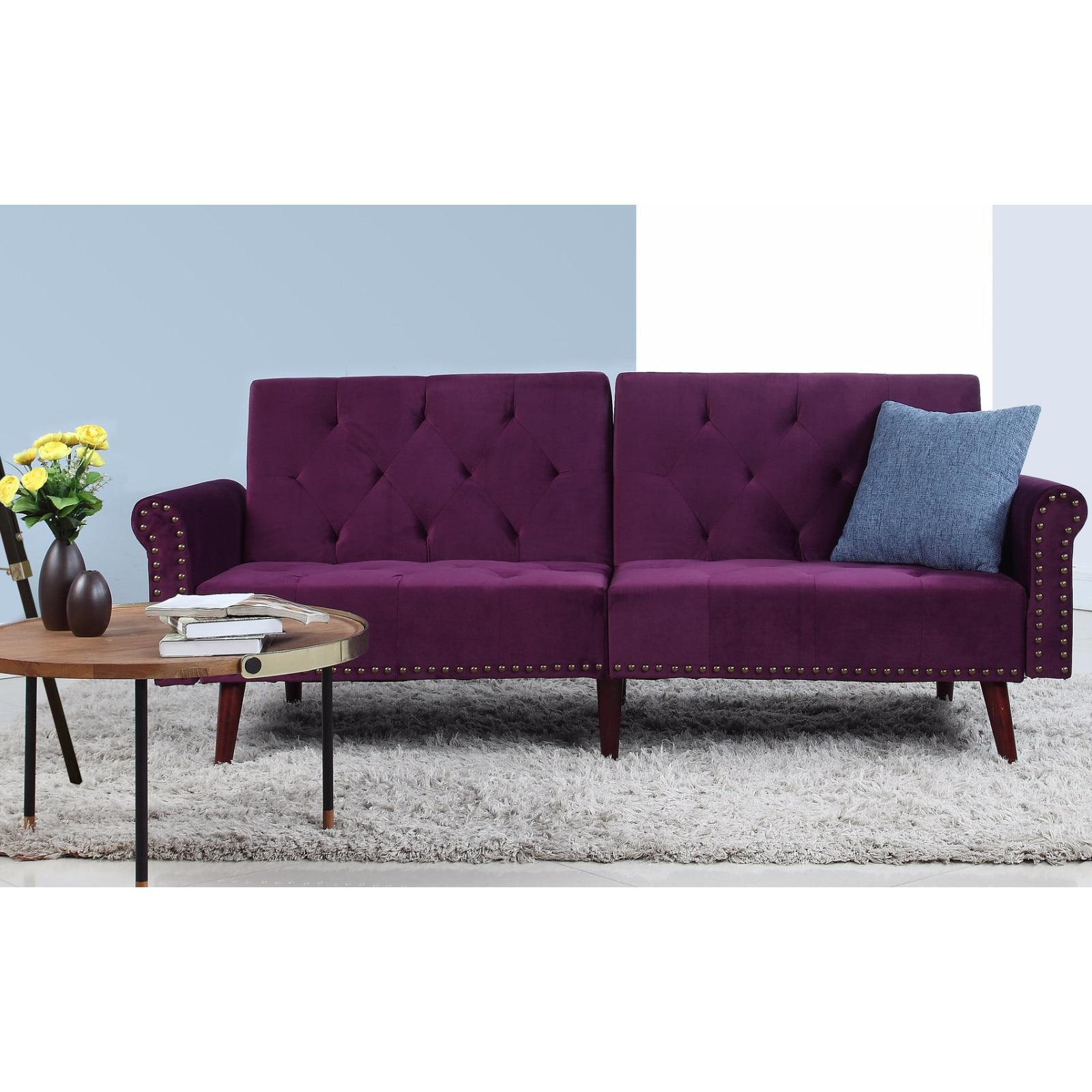 Futon Purple