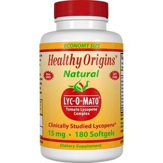 Healthy Origins Lyc-O-Mato 15 mg (180 Softgels)