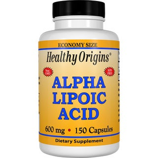 Healthy Origins Alpha Lipoic Acid 600 mg (150 Capsules)