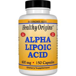 Healthy Origins Alpha Lipoic Acid 600 mg (150 Capsules)
