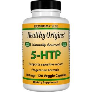 Healthy Origins 5-HTP 100 mg (120 Veggie Capsules)