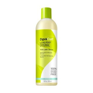 Deva Curl Low-Poo 12-ounce Original Mild Lather Cleanser