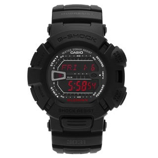 Casio Men's G9000MS-1 'G-Shock' Black Digital Dial Resin Strap Watch
