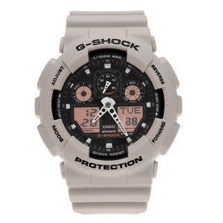 Casio Men's GA100SD-8A 'G-Shock' Military Sand Analog Digital Dial Watch