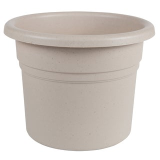 Bloem Posy 10-inch Taupe Planter