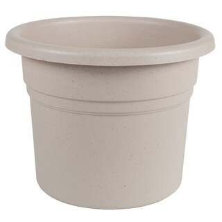 Bloem Posy 8-inch Taupe Planter