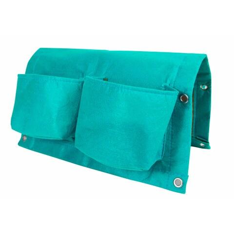 BloemBagz Deck Rail 4-Pocket Hanging Planter Bag - Calypso