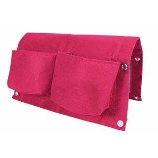 BloemBagz Deck Rail 4-Pocket Hanging Planter Bag - Amaranth