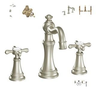 Moen Master Bath Suite - TS42114BN Bath Faucet, 9000 Valve, TS32104BN Shower Systm, 2520 Valve, TS22103BN Tub Faucet, 4792 Valve
