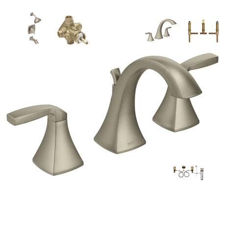 Moen Master Bath Suite - T6905BN Bath Faucet, 9000 Valve, T2693BN Shower System, 2520 Valve, T693BN Tub Faucet, 4792 Valve