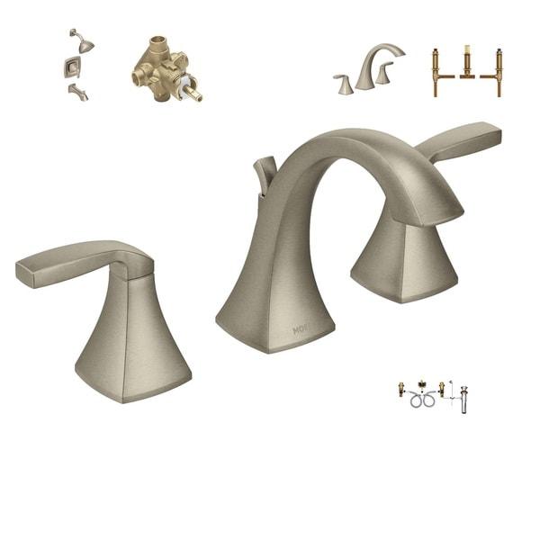 Moen Master Bath Suite T6905bn Faucet 9000 Valve T2693bn Shower System
