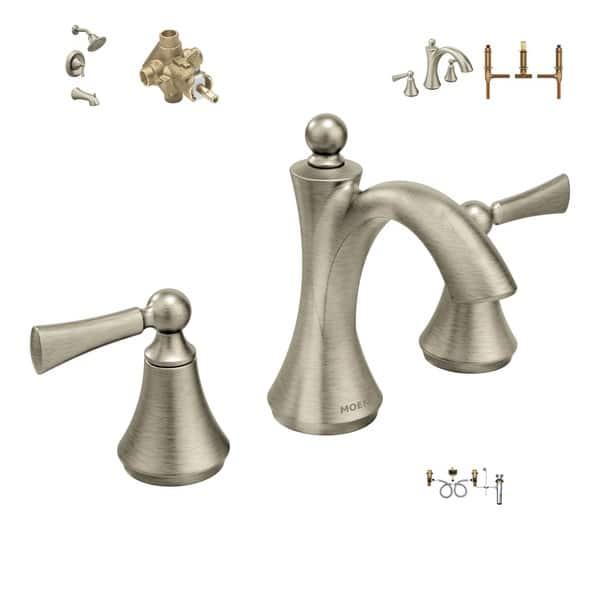 Moen Master Bath Suite T4520bn Faucet 9000