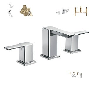 Moen TS6720 Master Bath Suite - TS6720 Bath Faucet, TS2713 Shower System, 2520 Shower Valve, TS903 Tub Faucet, 4792 Tub Valve