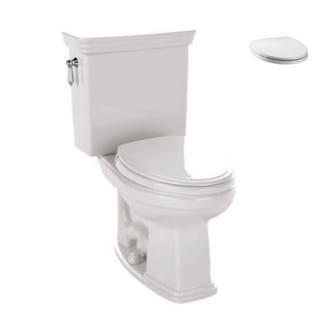Toto CST424EF#01, Toilet Seat Kit - CST424EF#01 2-Piece Toilet, SS114#01 Toilet Seat