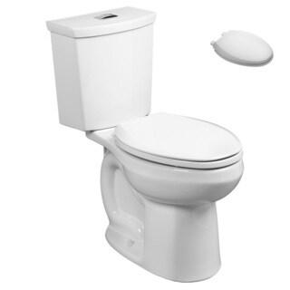 American Standard 2887.218.020, Toilet Seat Kit - 2887.218.020 2-Piece Toilet, 5257A.65C.020 Toilet Seat