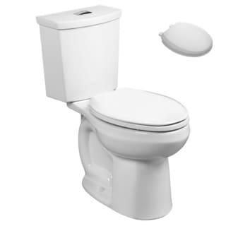 American Standard 2889.518.020, Toilet Seat Kit - 2889.518.020 2-Piece Toilet, 5259B.65C.020 Toilet Seat