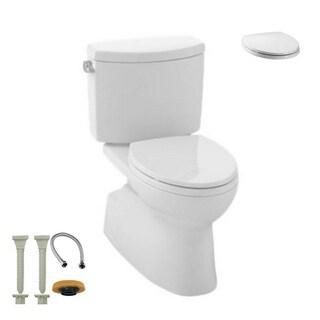 Toto CST474CEFG#01, Toilet Seat, Install Kit - CST474CEFG#01 2-Piece Toilet, SS114#01 Toilet Seat, hydrapro Install Kit