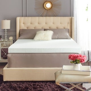 TruPedic 4-inch True Gel Memory Foam Mattress Topper