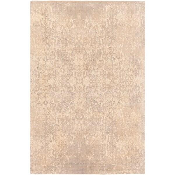 Handmade Tulsi Wool Area Rug - 2' x 3'