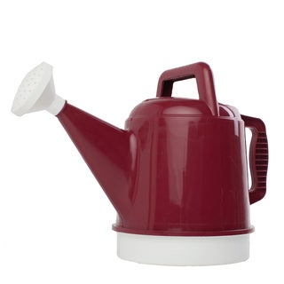 Bloem Deluxe 2.5 Gallon Union Red Watering Can (Pack of 6)