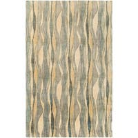 Hand-Tufted Kirkdale Wool Area Rug - 2' x 3'