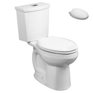 American Standard 2886.218.020, Toilet Seat Kit - 2886.218.020 2-Piece Toilet, 5257A.65C.020 Toilet Seat