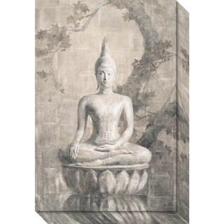 Canvas Art Gallery Wrap 'Buddha Neutral' by Danhui Nai 16 x 24-inch