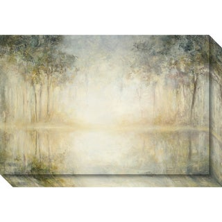 Canvas Art Gallery Wrap 'Morning Mist' by Julia Purinton 24 x 16-inch
