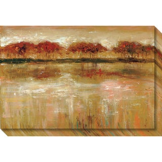Canvas Art Gallery Wrap 'Paxton Cove' by Jack Roth 30 x 20-inch