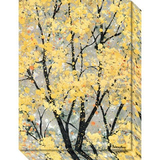 Canvas Art Gallery Wrap 'Early Spring I' by Helena Alves 16 x 21-inch