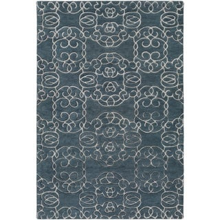 Hand-Tufted Hestra Wool Area Rug - 2' x 3'