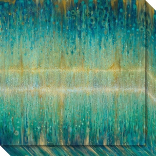 Canvas Art Gallery Wrap 'Rain Abstract I' by Danhui Nai 20 x 20-inch