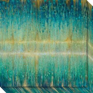 Canvas Art Gallery Wrap 'Rain Abstract I' by Danhui Nai 20 x 20-inch
