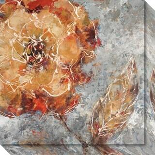Canvas Art Gallery Wrap 'Ashanti I (Floral)' by Adam Rogers 20 x 20-inch