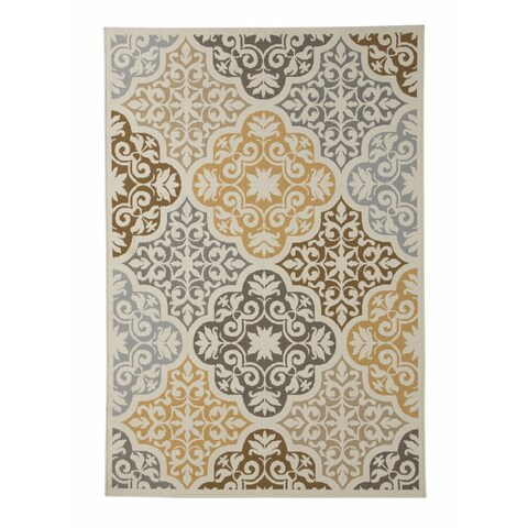 Signature Design by Ashley Lacy Brown Rug - 5' x 7'