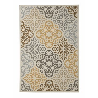 Signature Design by Ashley Lacy Brown Rug (5' x 7')
