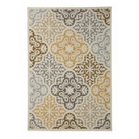 Signature Design by Ashley Lacy Brown Rug (7' x 10')