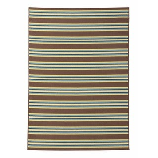 Signature Design by Ashley Matchy Lane Brown Rug (5' x 7')