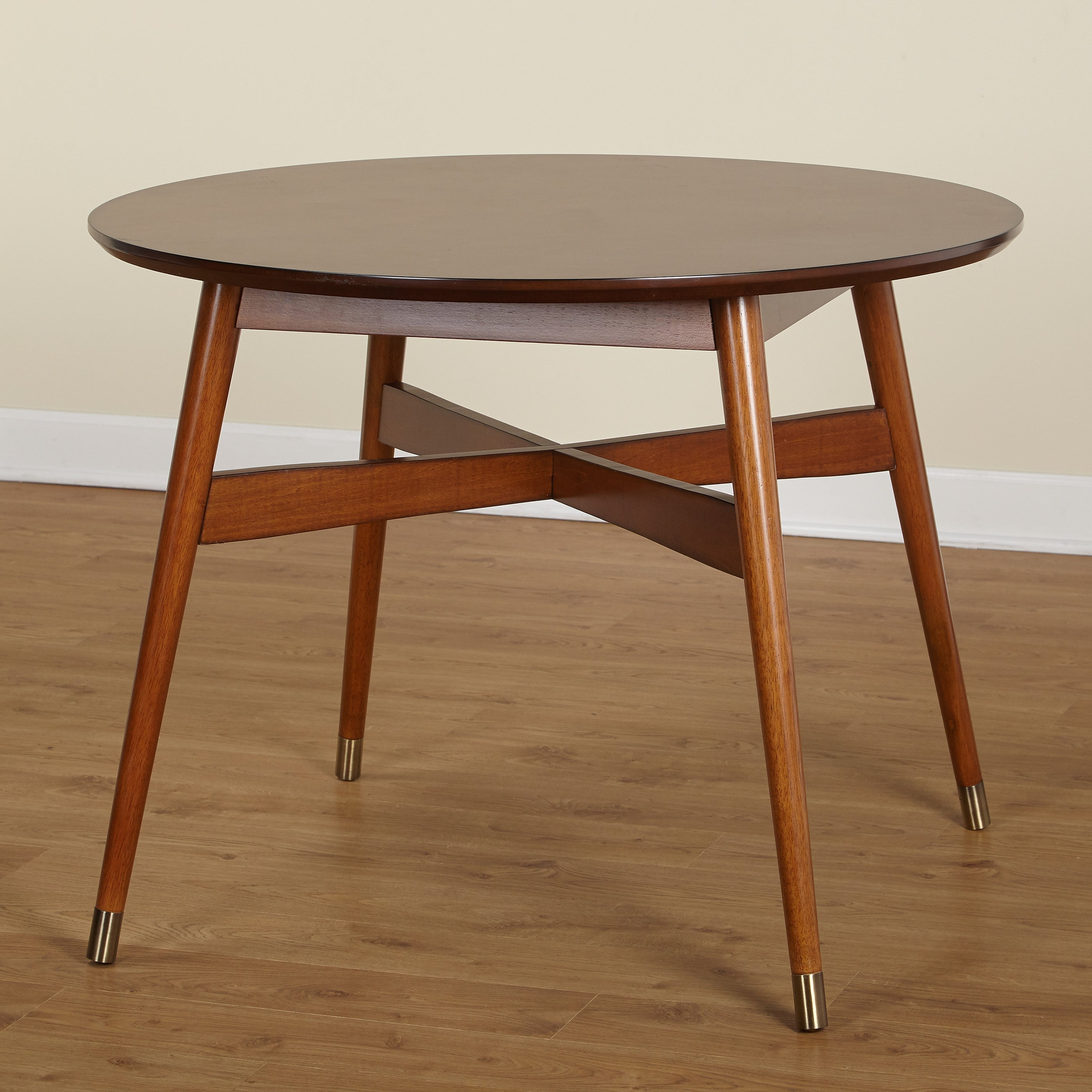 Angelo:HOME Allen Mid Century Dining Table   N/A (2 Options Available